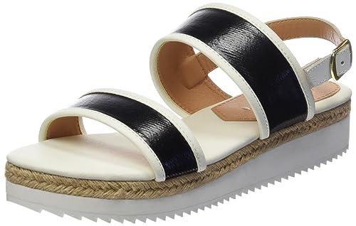 LUANCA - Sandalias para Mujer, Color Blanco, Talla 37 Gioseppo