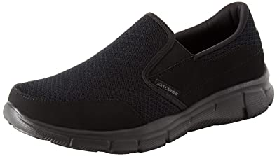 Equalizer Skechers Nordic Shoes 6 Persistent Men's Black Walking hstQrd