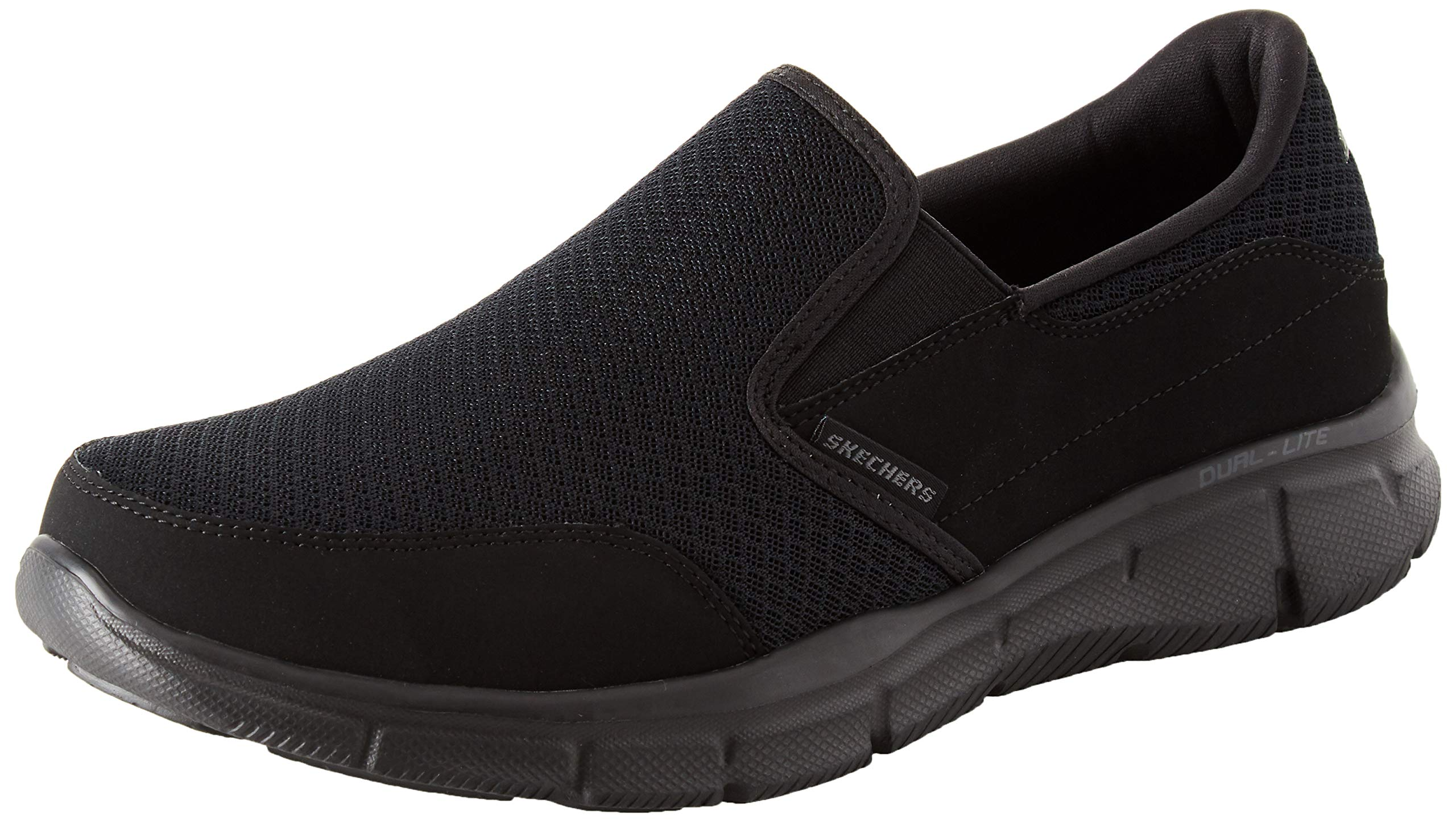 Skechers Sport Men's Equalizer Persistent Slip-On Sneaker, Black, 14 M US