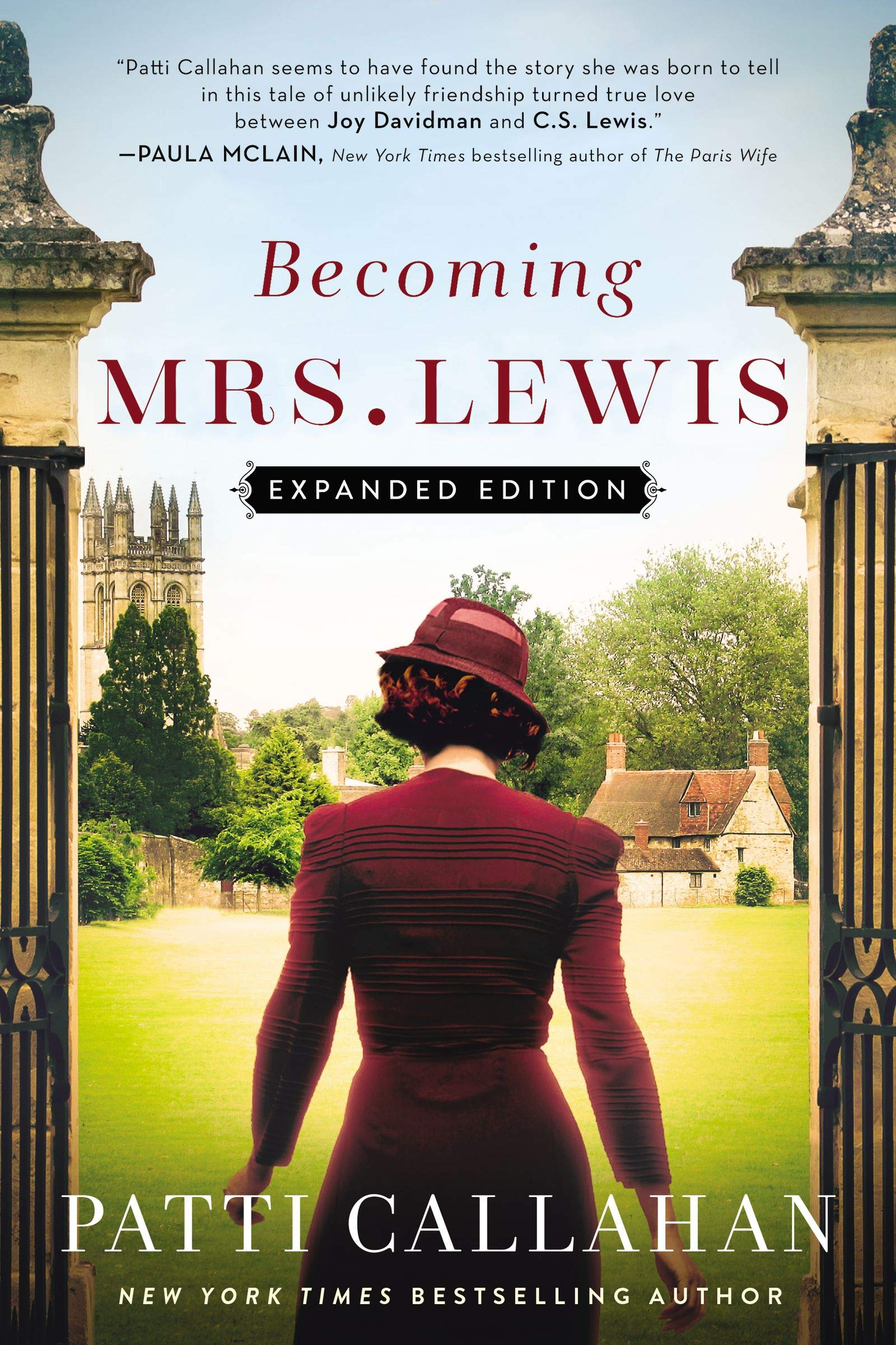New York Times Best Sellers March 2020 Becoming Mrs. Lewis: Expanded Edition: Patti Callahan