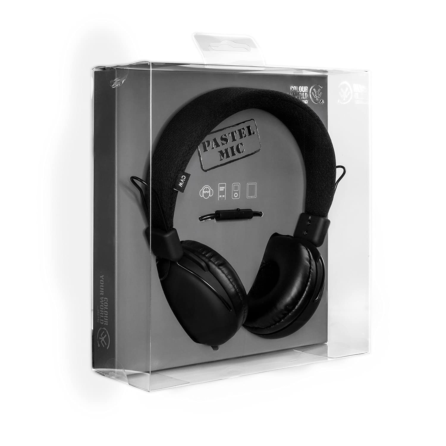 Urbanz Pastel Noise Isolating On-Ear Stereo Headphones  Amazon.co.uk   Electronics 2bc0bea749