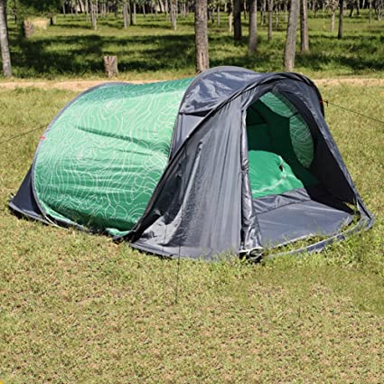 MQHY-Tent Automatic 2 Second Quick Pop Up Tents 2 Person Big Tents 1 Room+ & Amazon.com : MQHY-Tent Automatic 2 Second Quick Pop Up Tents 2 ...