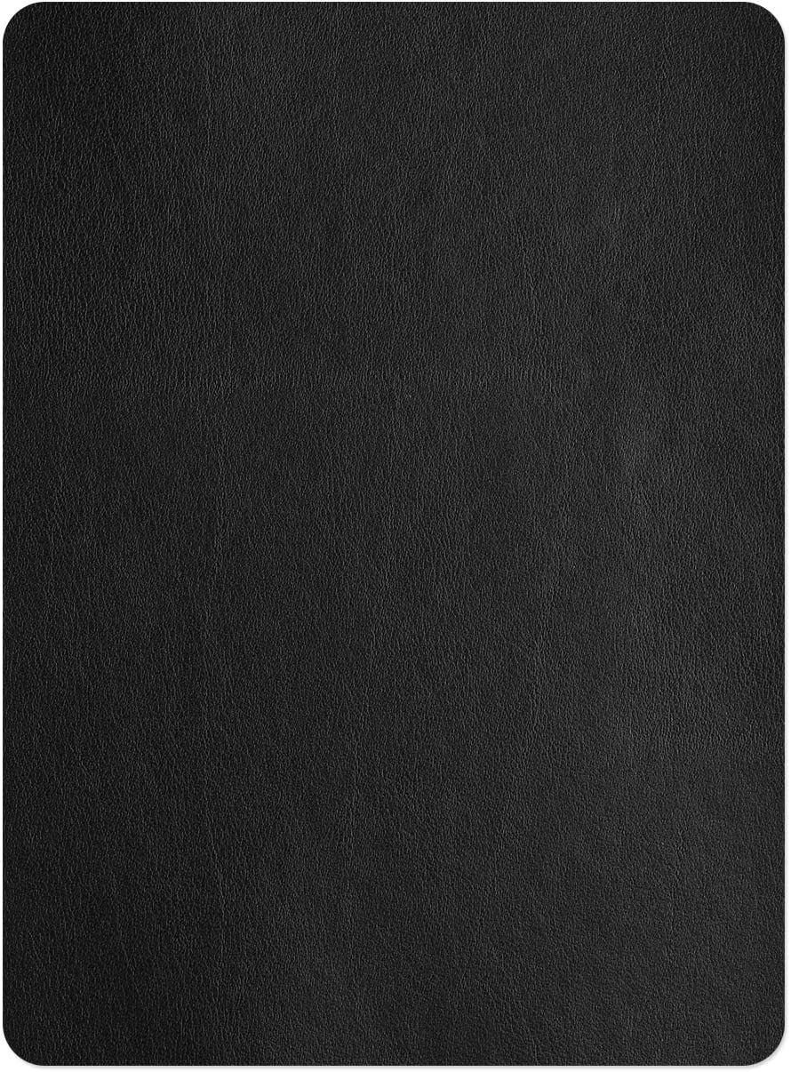 Leather Repair Patch,Self-Adhesive Couch Patch,Multicolor Available Anti Scratch Leather 8X11 Inch Peel and Stick for Sofas, car Seats Hand Bags Jackets (New Black)