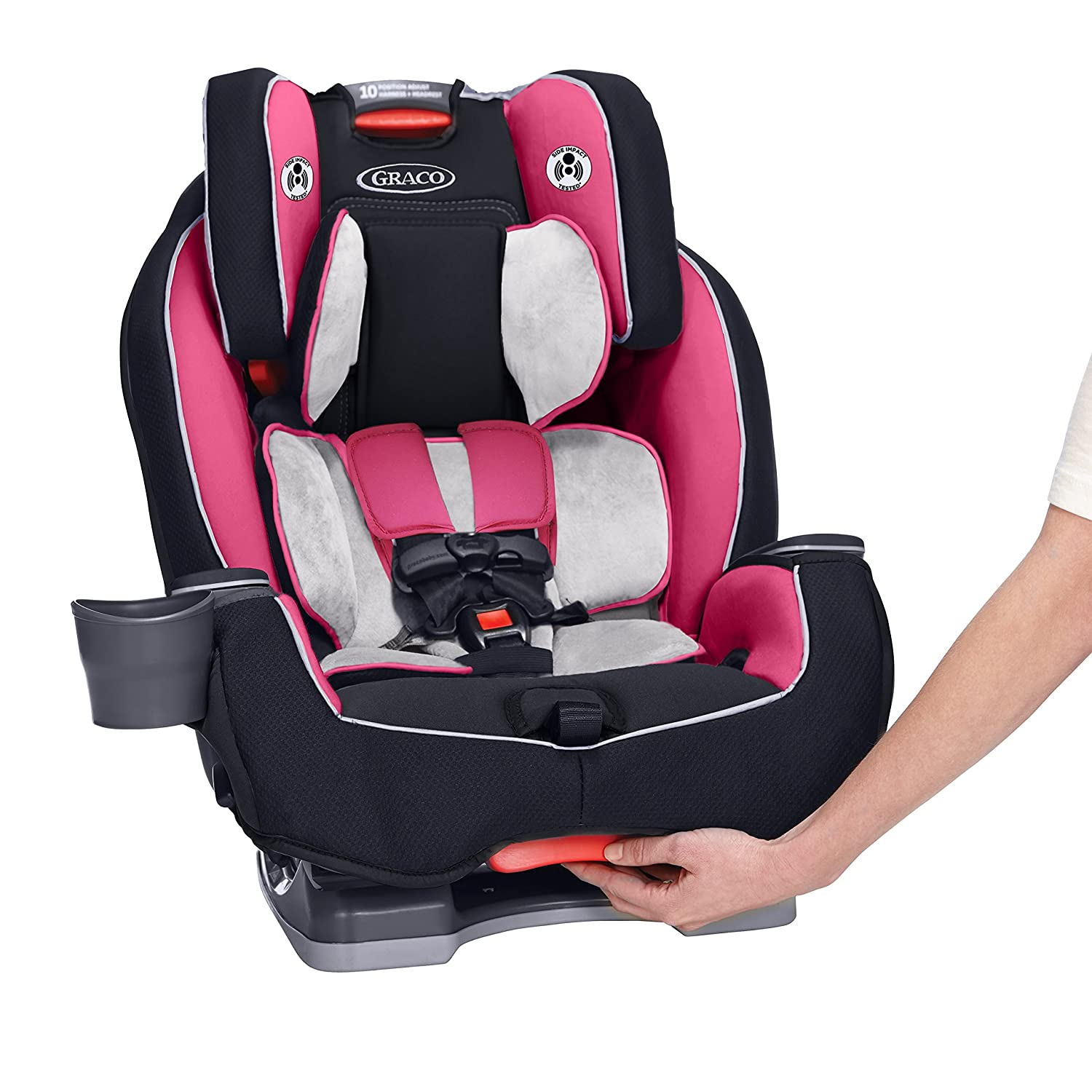 Parts for car seats likewise graco replacement parts for car - Amazon Com Graco Milestone All In 1 Convertible Car Seat Ayla Baby