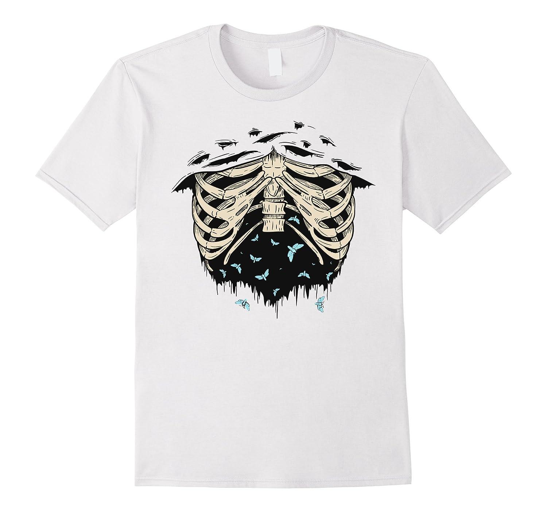Ribs skeleton shirt