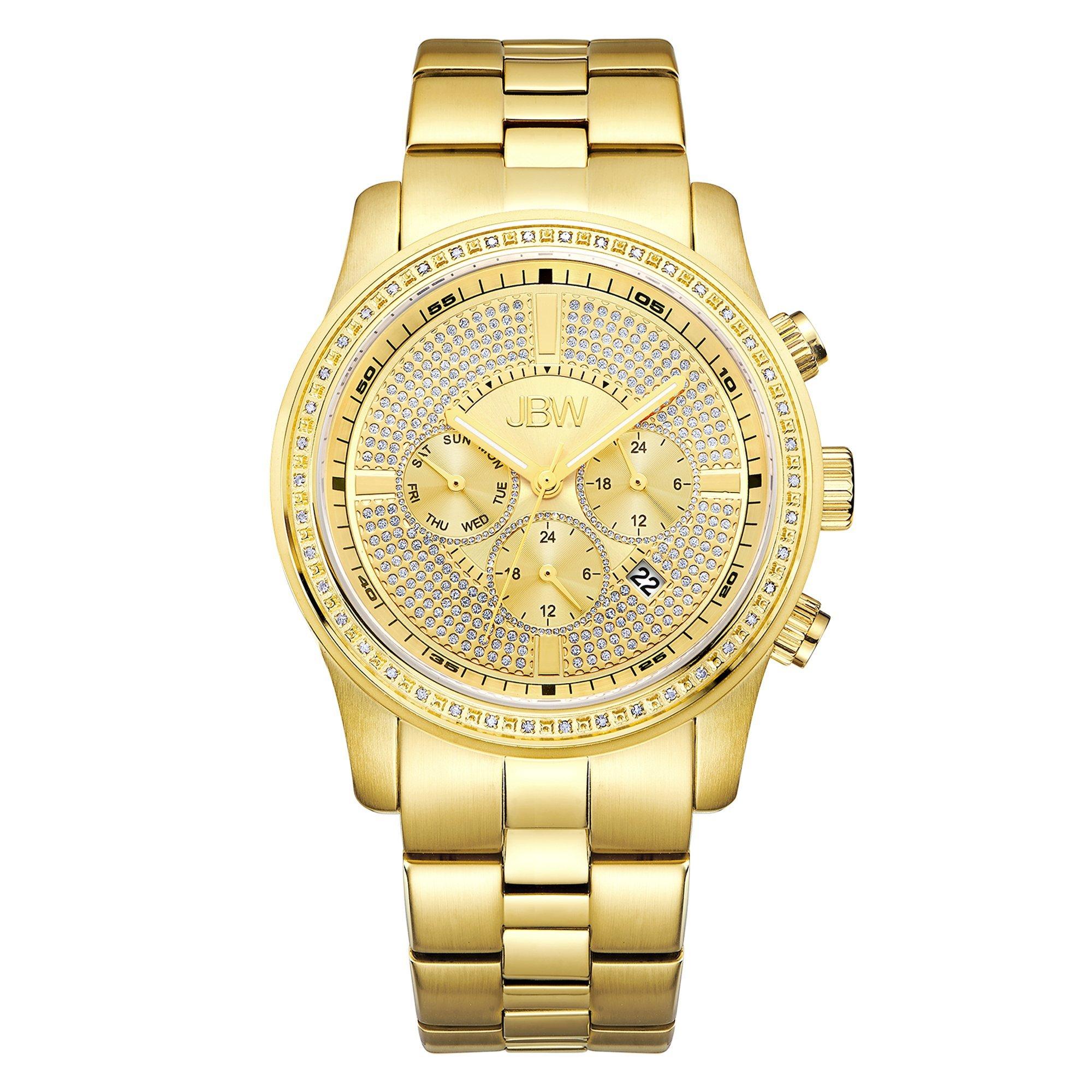 Jbw Men's Vanquish J6337B Chronograph Diamond Watch 6