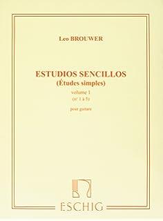 LEO BROUWER 20 ESTUDIOS SENCILLOS PDF DOWNLOAD