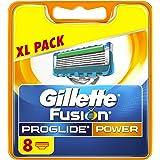 Gillette Fusion ProGlide Power Lames De Rasoir Pour Homme - 8Recharges - Emballage «déballer sans s'énerver»