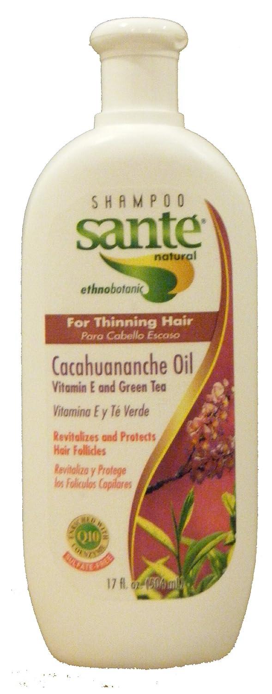 Amazon.com: Shampoo Sante Natural etnobotanico con Cacahuananche, Vitamina E y Te Verde - Para Cabello Escaso y Evitar La Caida Del Cabello, Revitaliza y ...