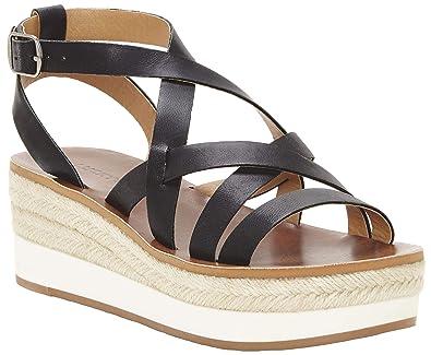 d0e5edadae7 Amazon.com: Lucky Brand Women's Jenepper Espadrille Wedge Sandal: Shoes