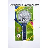 Dwarakesh Enterprises™ Kedar Mini Rechargeable Mosquito bat with Heavy Duty Battery inbuilt - SA 613 (31 * 15.5 cm)