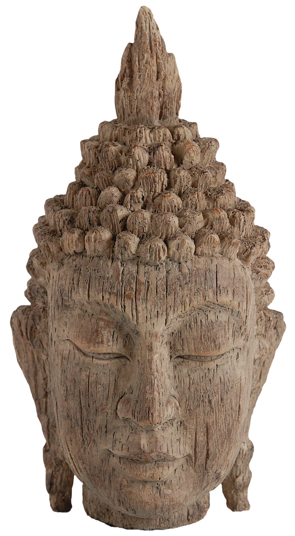 A&B Home 73629 Buddha Head Sculpture, 6.5 by 6.3 by 12-Inch by A&B Home
