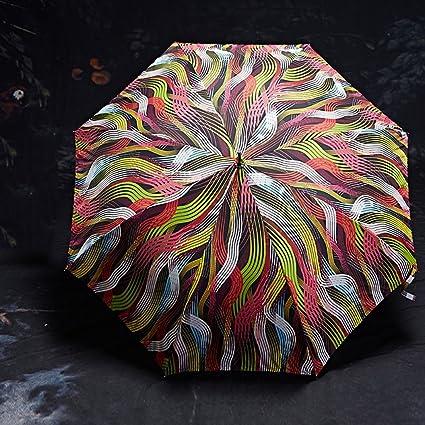 Guo Larga del paraguas Mujer Creativa sombrilla doble grande recta - Paraguas Paraguas anti - UV