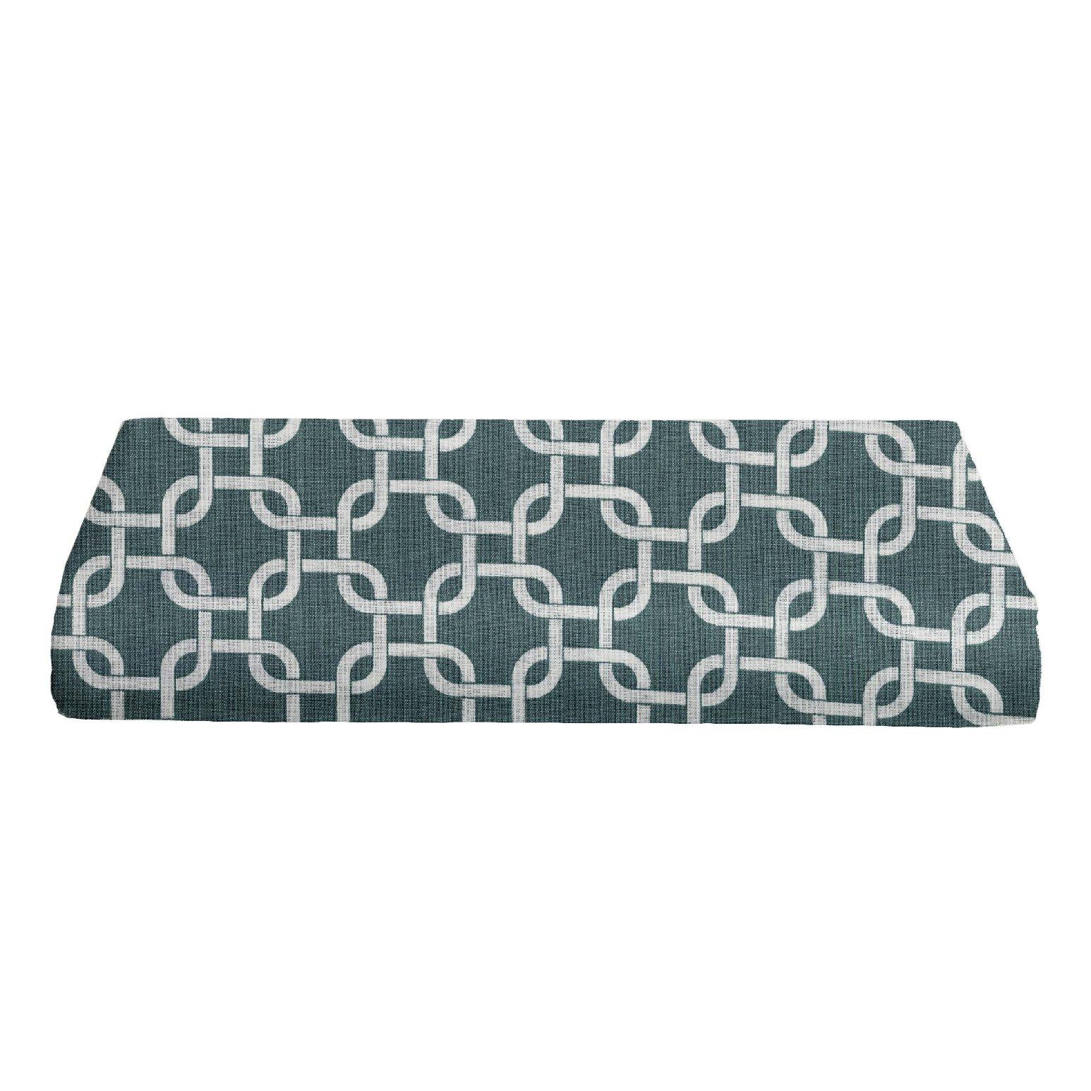 BKB Cradle Sheet RopeSheet Rope Links, Spa Blue, 18'' x 36''