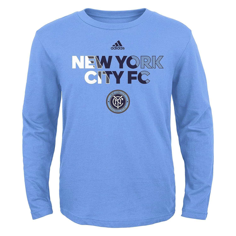 Bahia Blue MLS by Outerstuff Short Sleeve Striker Tee Youth Boys Large 14-16