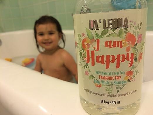 Amazon.com : Baby Shampoo Body Wash and Bubble Bath - 16 oz ...