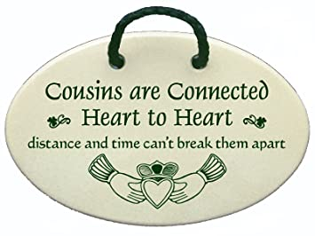 Amazoncom Cousins Are Connected Heart To Heart Distance And Time