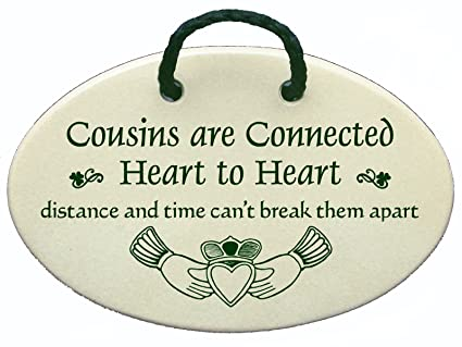 Image result for irish blessing plaque cousins