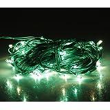 Lexton bulb Decorative Rice String Light 4-4.5m(Green)