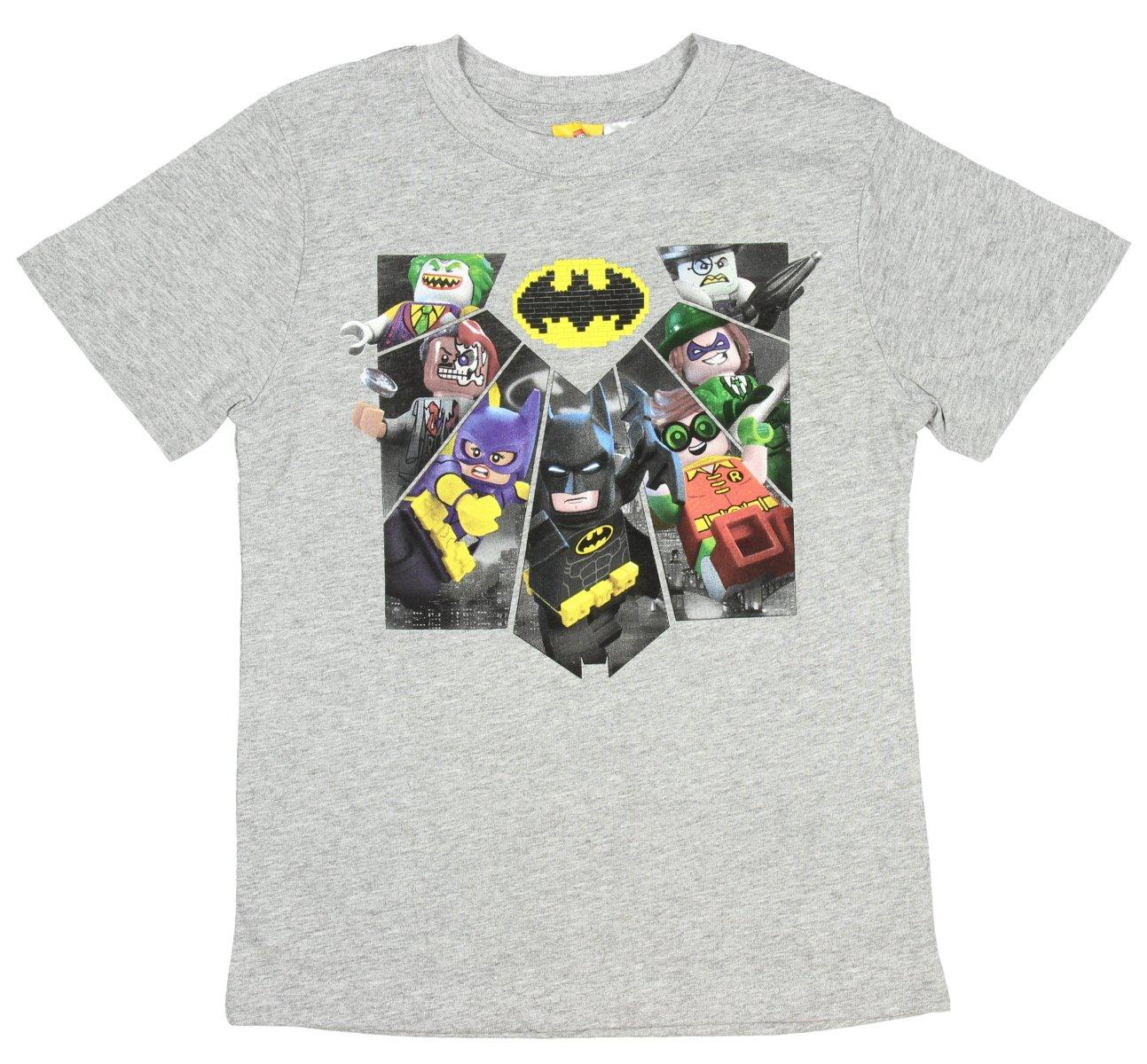 Lego Batman Movie Character Shirt For S 4 16 Batman Robin Batgirl Joker P