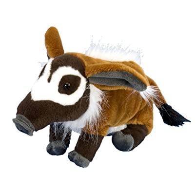 Wild Republic Red River Hog Plush, Stuffed Animal, Plush Toy, Kids Gifts, Cuddlekins, 12 Inches: Toys & Games