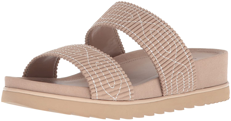 Donald J Pliner Women's Cait Slide Sandal B0755C4Y84 6 B(M) US|Almond
