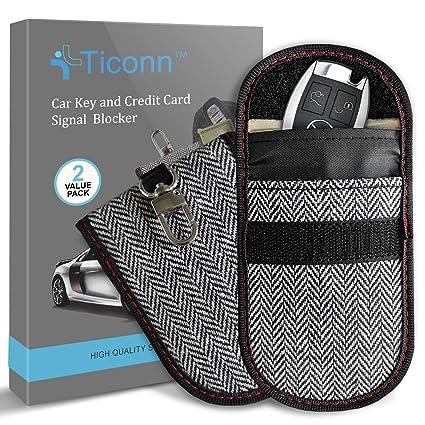 Amazon.com: Bolsa Faraday para llavero (2 unidades ...