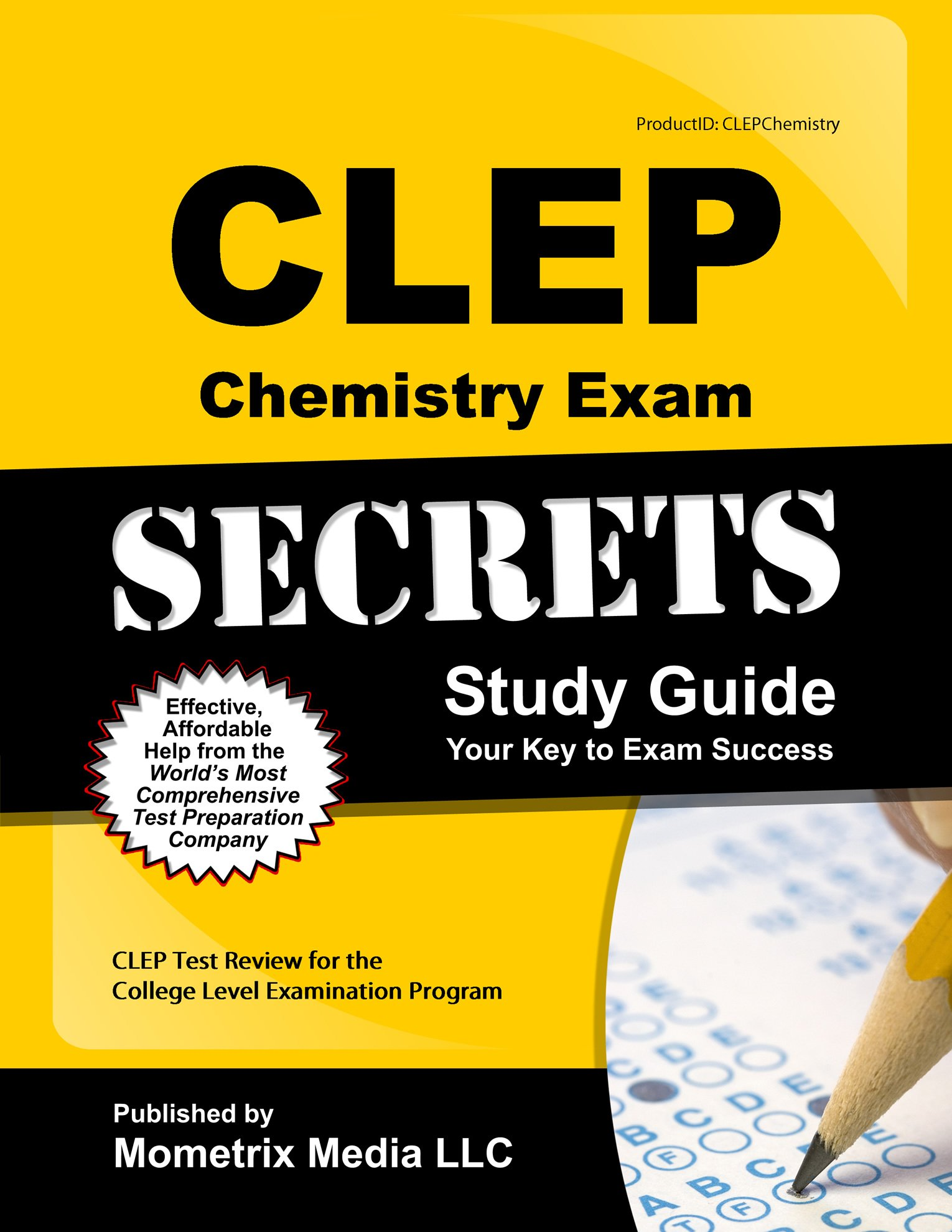 CLEP Chemistry Exam Secrets Study Guide: CLEP Test Review for the College  Level Examination Program: Amazon.com: Books