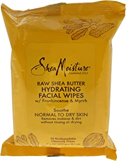 product image for Shea Moisture Raw Shea Facial Wipes, 30 Count