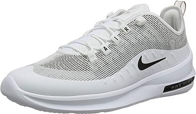 Nike Men's Air Max Axis Prem Running Shoes, White (White/Black/Pumice 102),  6 UK