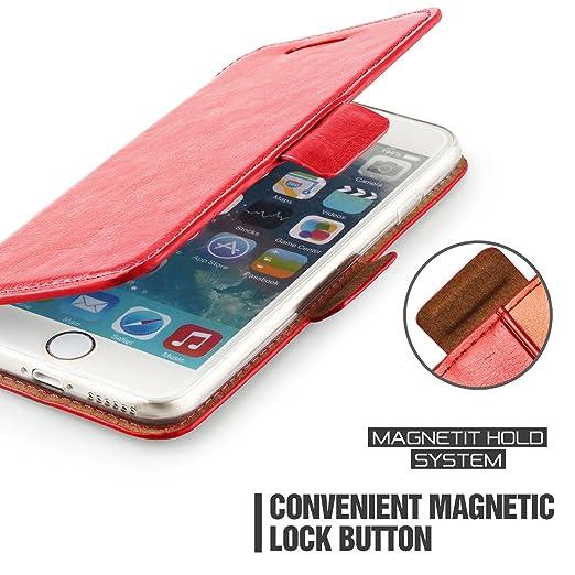 375 opinioni per Custodia iPhone 6s Plus- Cover iPhone 6s Plus- Mulbess Custodia In Pelle Con
