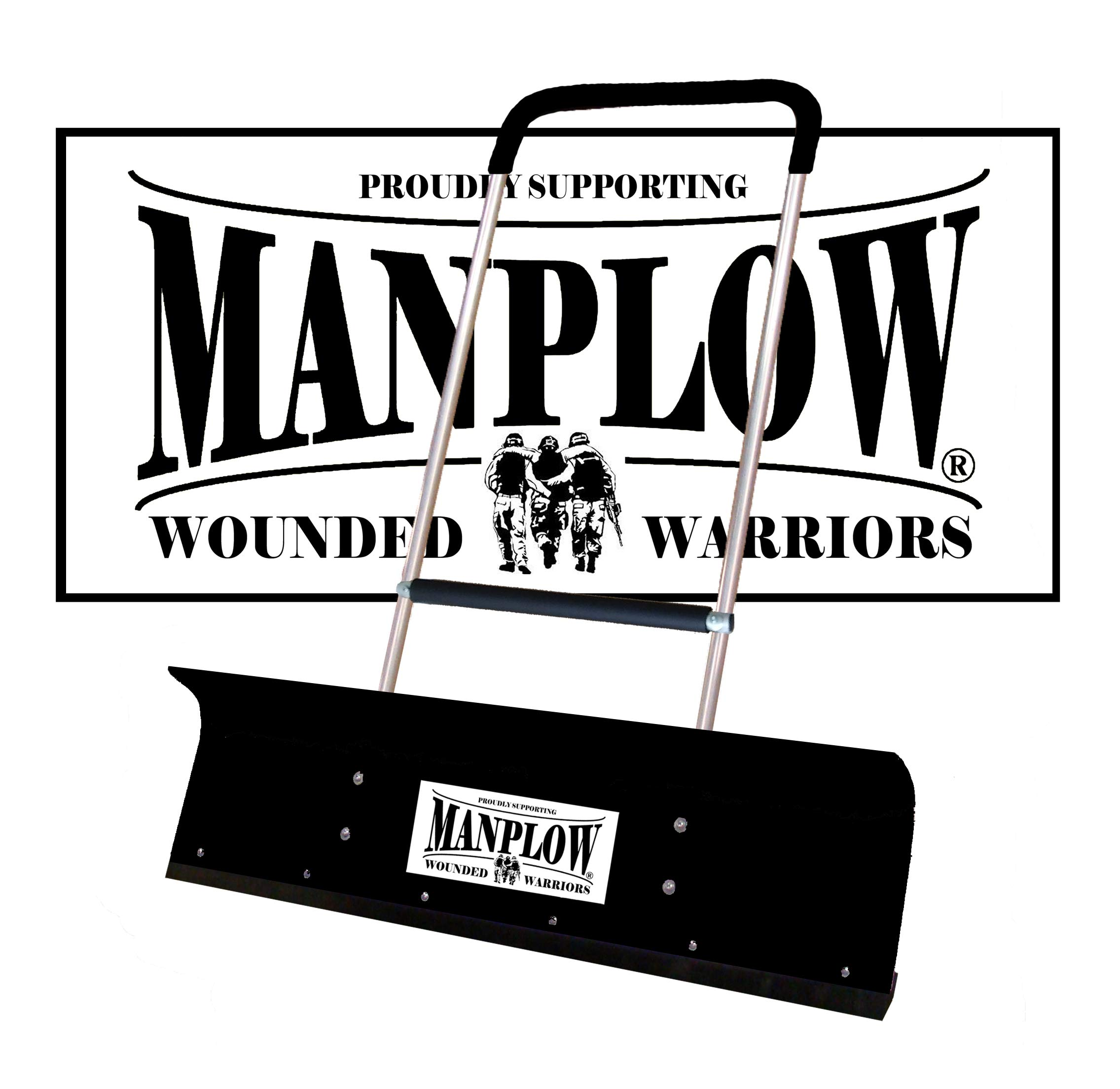 Manplow PRO42 Wounded Warrior Special Release w/Grab Bar by Manplow
