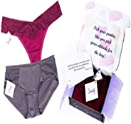 Gena Graceful Inspirational Undies Subscription Box - Thong Only