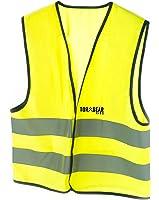 Child's Safety Vest, Kids Biking & Construction High Vis Reflective for Costume