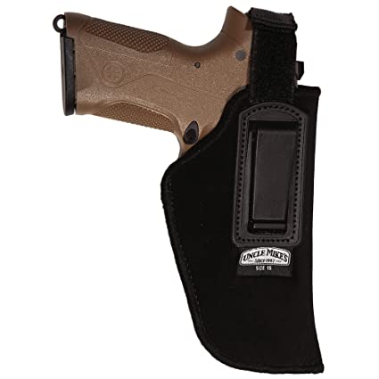 Uncle Mike's Inside The Waistband Retention Strap Holster Large Frame  Semi-Automatic 3- 75