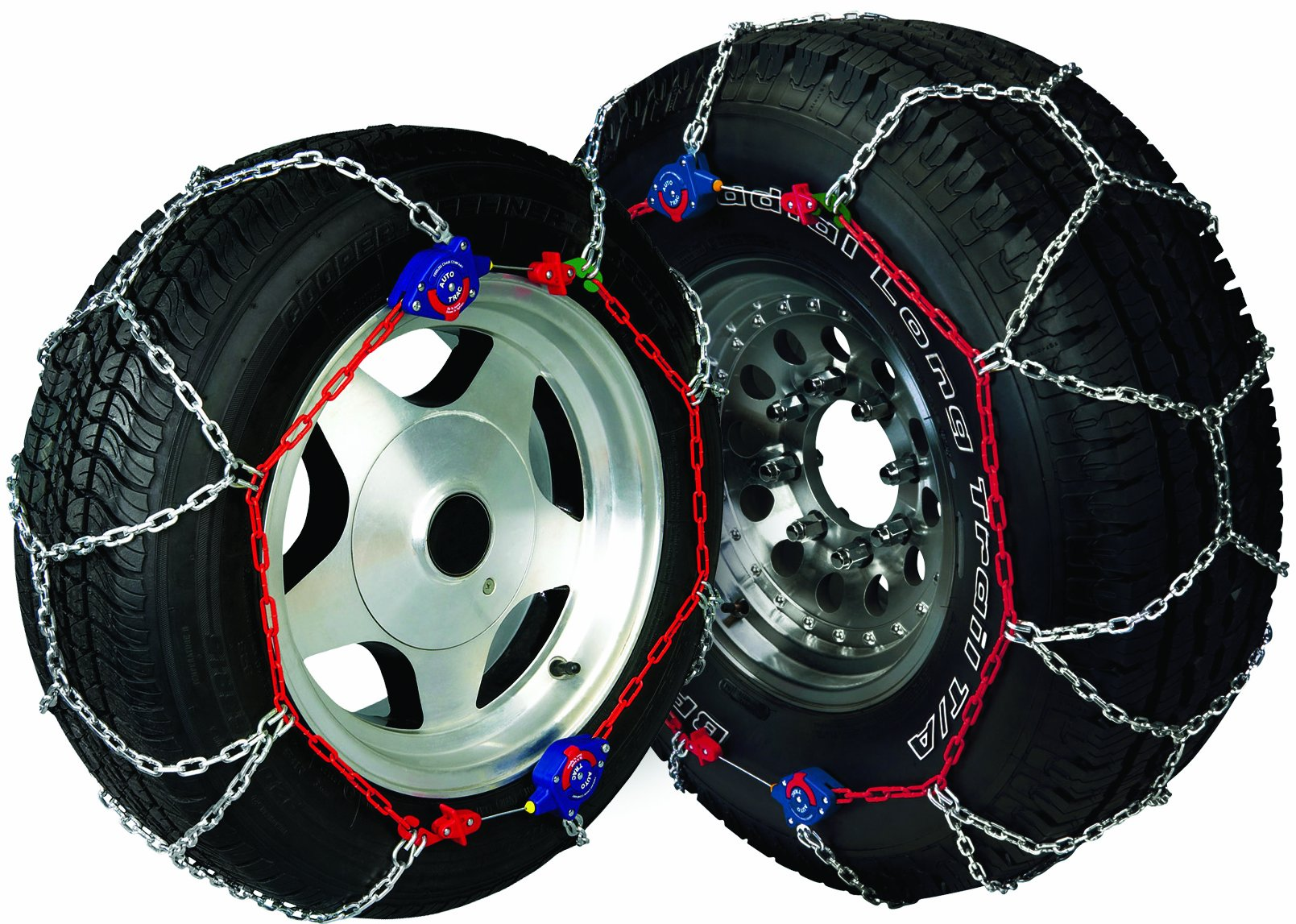 Peerless 0231705 Auto-Trac Light Truck/SUV Tire Traction Chain - Set of 2 by Security Chain (Image #2)