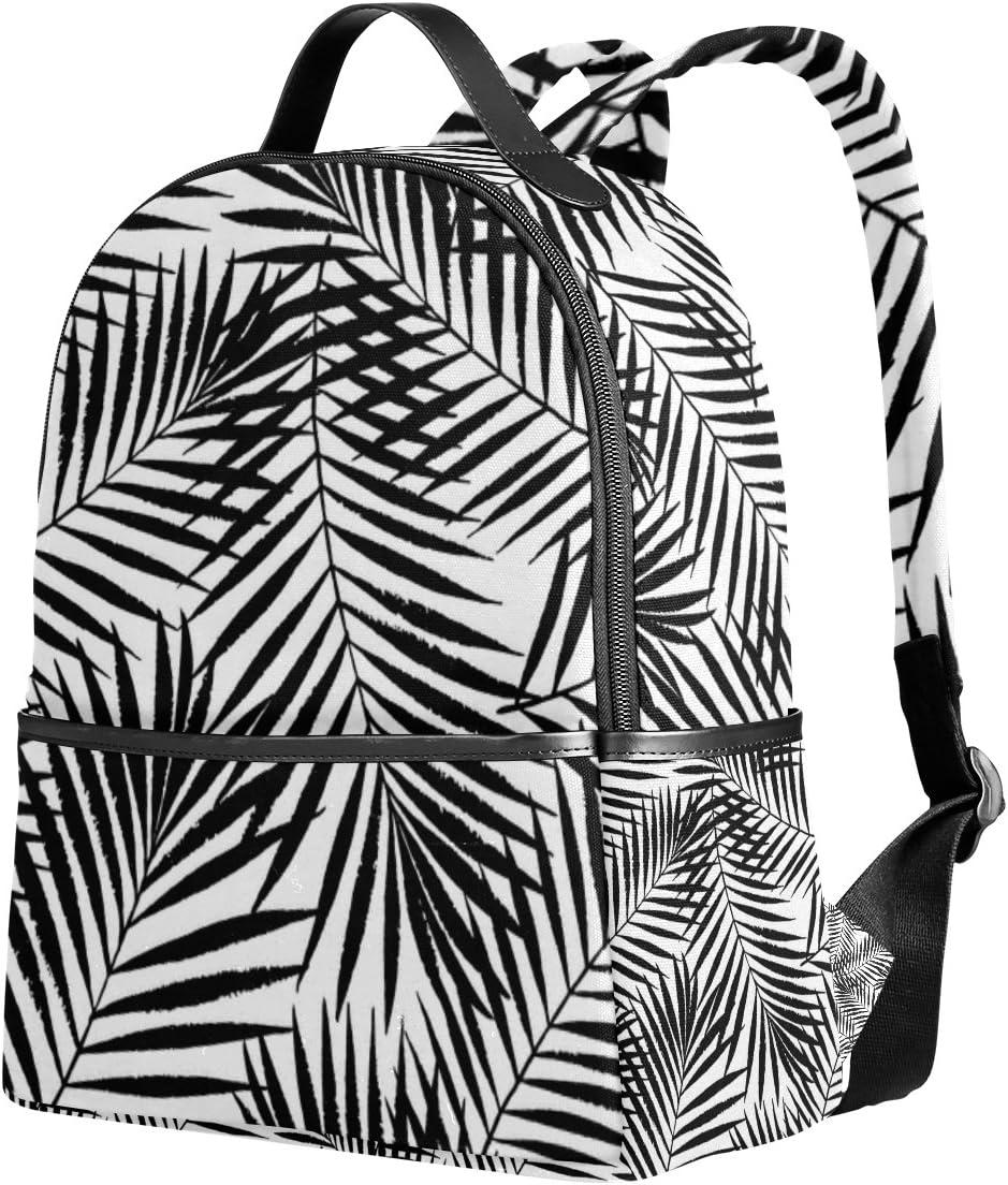 Cooper girl Palm Tree Leave Lightweight School Backpack for Boys Girl Kids