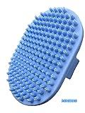Pixikko Pet Curry Shampoo Bath Brush/Comb for