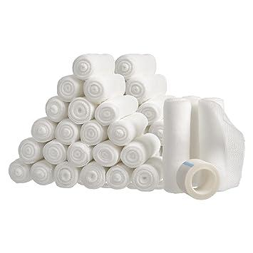 amazon com 48 gauze bandage roll for wound care large 4x4 yards