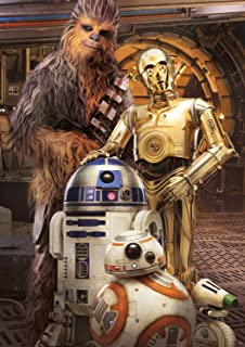 product image for Star Wars - Chewbacca and The Droids - 300 Large Piece Jigsaw Puzzle