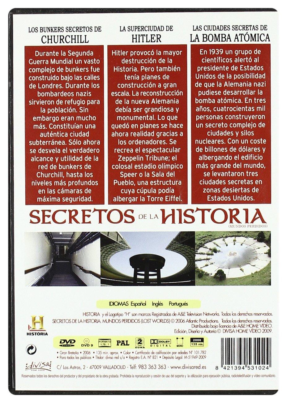 Secretos de la Historia. Mundos Perdidos 6 [DVD]: Amazon.es: GEORGE PAGLIERO, CHARLOTT: Cine y Series TV