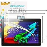 EnGive 3 x Film protecteur d'écran pour Lenovo Tab 2 A10-70, HD-Clear Film Protection [anti-rayures] [Installation sans bulles] pour Lenovo Tab 2 A10-70