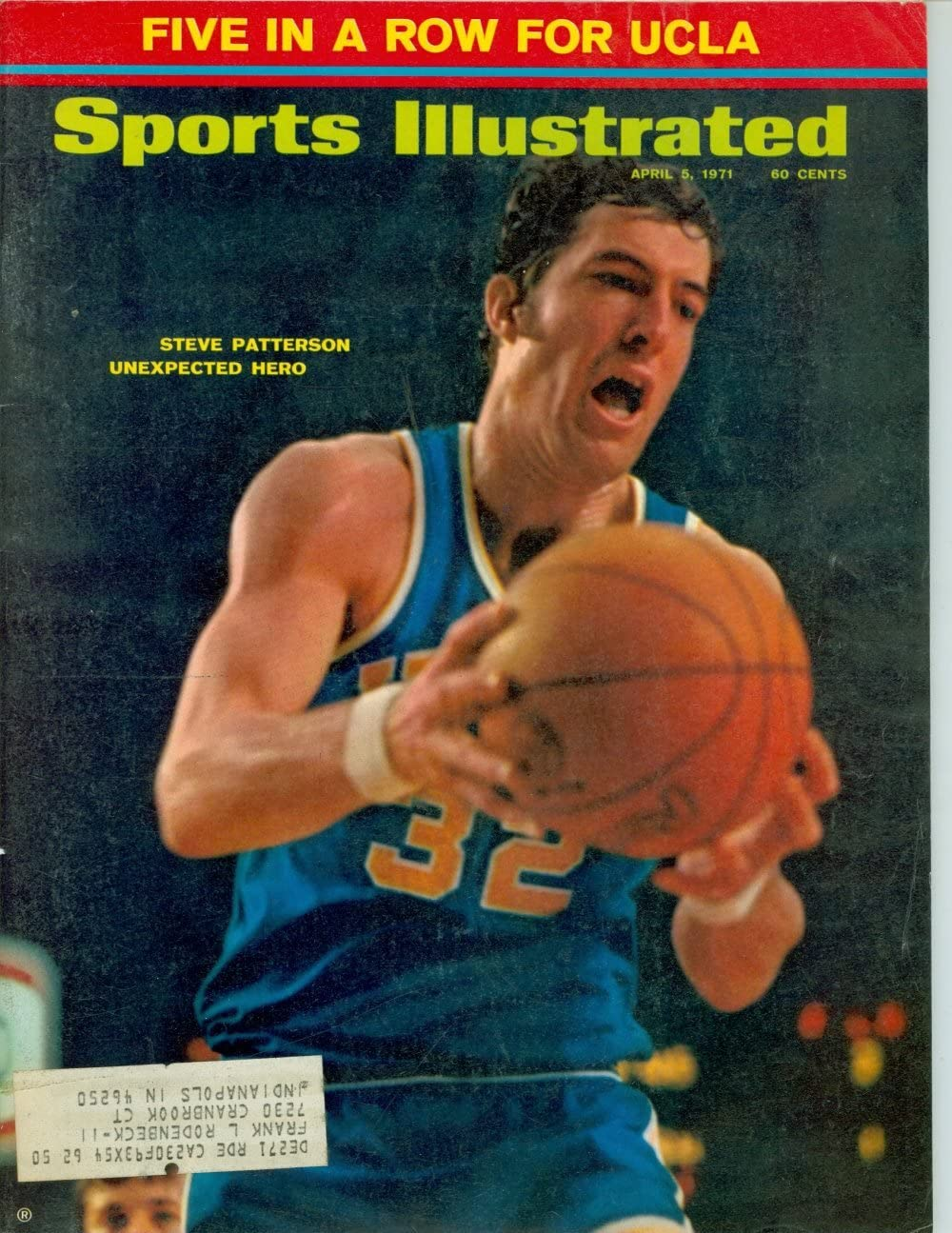 Amazon Com 1971 Sports Illustrated April 5 Steve Patterson Sports Collectibles