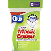 Chux Magic Eraser Kitchen Cleaning Pad, 2 count