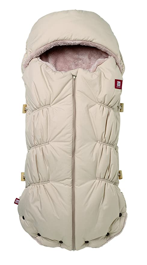 Red Castle 0844155 - Saco polar de bebe con capucha, color beige
