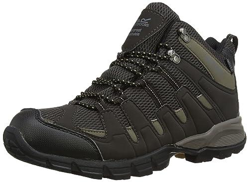Regatta Garsdale Mid Men High Rise Hiking Shoes  BCI2PN4YO