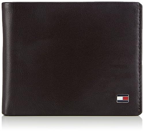Tommy Hilfiger Walker Mini Cc Wallet, Portafoglio da uomo, marrone  (brown/scarab 909), 11x9x1 cm (B x H x T): Amazon.it: Scarpe e borse