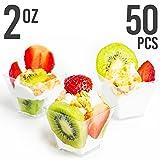 Mini Plastic Dessert Cups - Elegant, Professional
