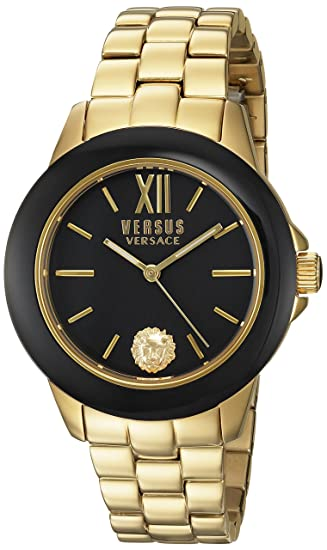 Versus By Versace Reloj Analógico de Cuarzo para Mujer con Correa de Acero - SCC040016: Amazon.es: Relojes