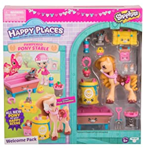 Happy Places Shopkins Pampered Pony Welcome Pack